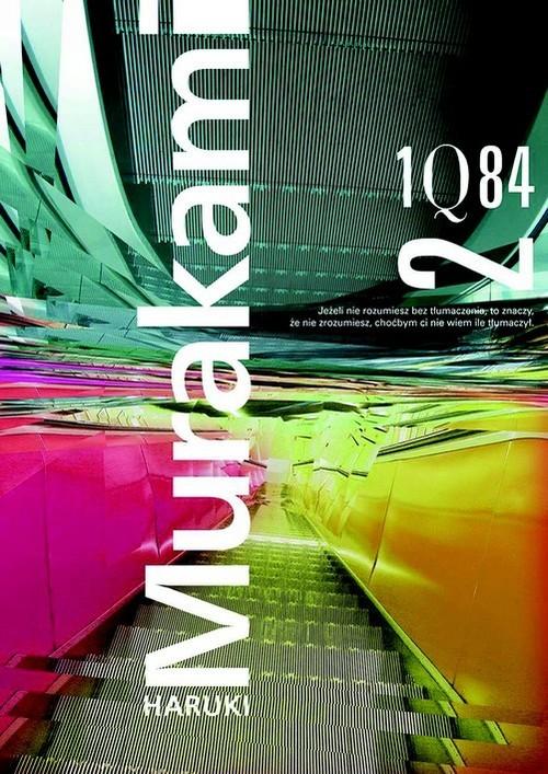 okładka 1Q84 Tom 2książka      Haruki Murakami