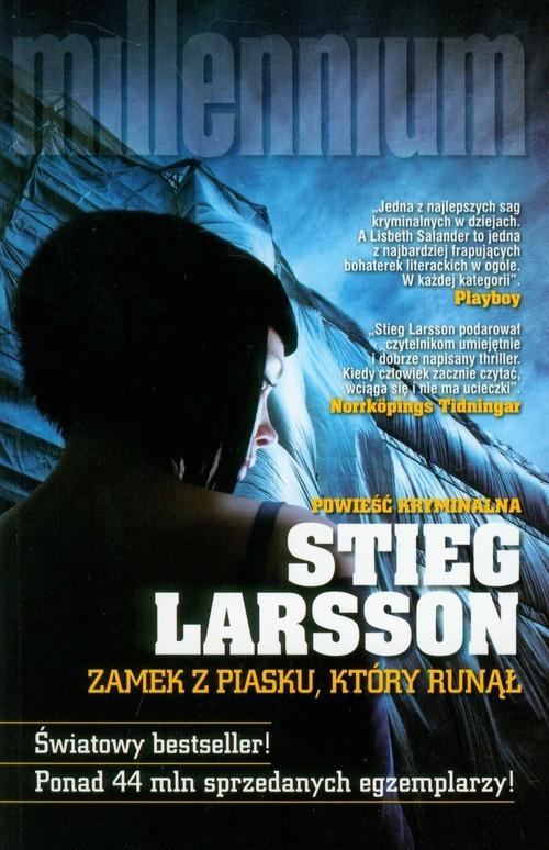 okładka Zamek z piasku, który runąłksiążka      Stieg Larsson