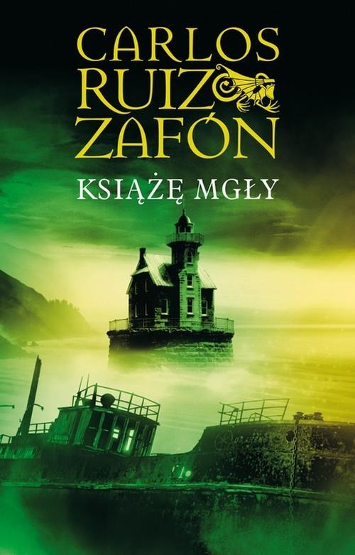 okładka Książę Mgły, Książka | Carlos Ruiz Zafón