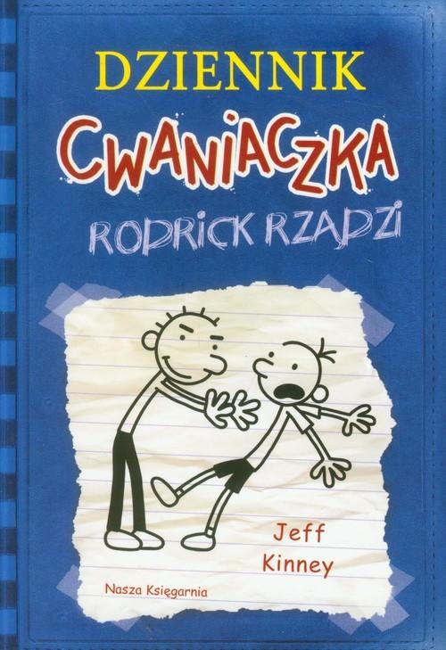 okładka Dziennik cwaniaczka 2. Rodrick rządziksiążka      Jeff Kinney