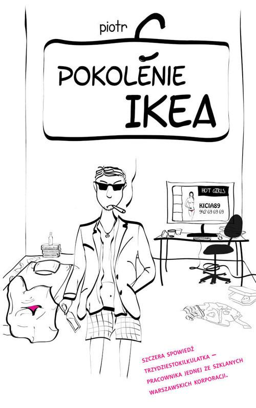 okładka Pokolenie Ikea, Książka   Piotr  C