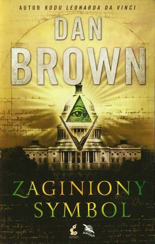 okładka Zaginiony symbolksiążka      Dan Brown