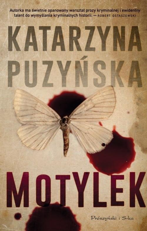 okładka Motylek, Książka | Katarzyna Puzyńska