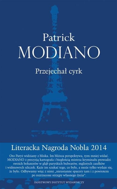 okładka Przejechał cyrkksiążka |  | Patrick Modiano