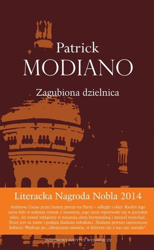 okładka Zagubiona dzielnicaksiążka |  | Patrick Modiano