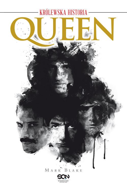 okładka Queen. Królewska historiaksiążka      Mark Blake