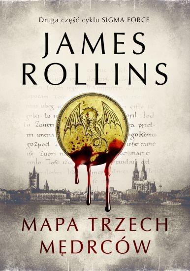 okładka Mapa trzech mędrcówksiążka      James Rollins