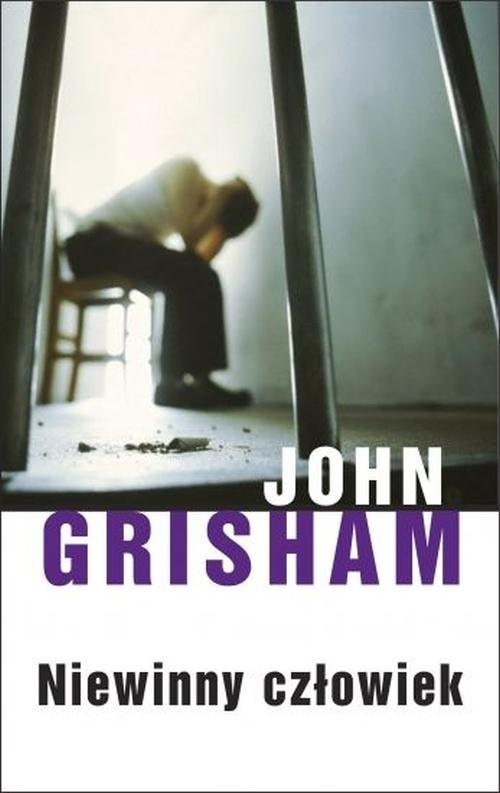 okładka Niewinny człowiekksiążka      John Grisham