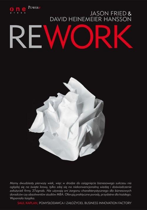 okładka Reworkksiążka |  | Jason Fried, David Heinemeier Hansson