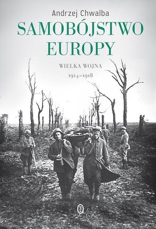 okładka Samobójstwo Europyksiążka      Andrzej Chwalba