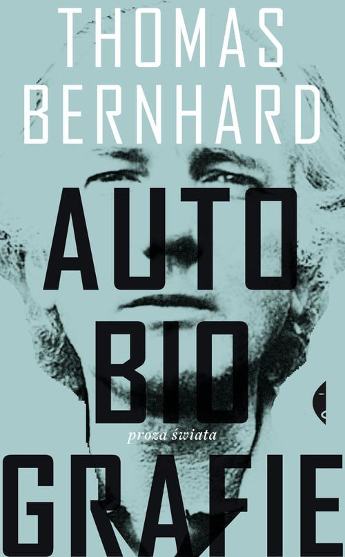 okładka Autobiografieksiążka      Thomas Bernhard