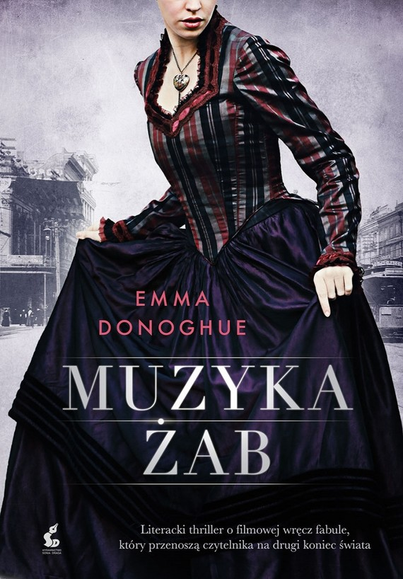 okładka Muzyka żab, Książka | Emma Donoghue