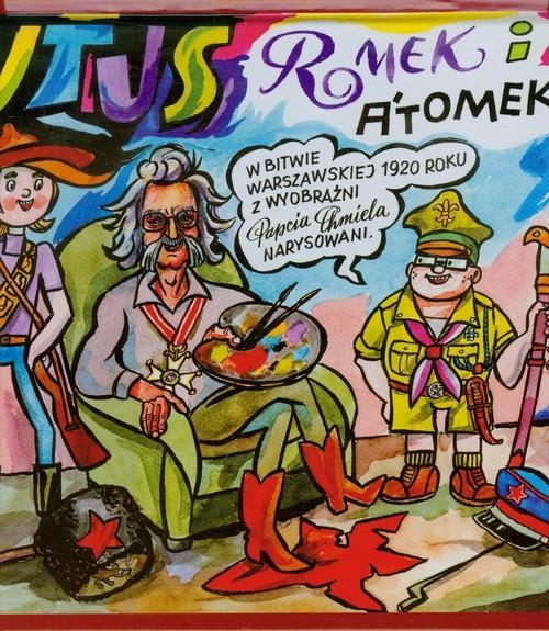 okładka Tytus Romek i Atomek w Bitwie Warszawskiej. 1920 z wyobraźni Papcia Chmiela narysowaniksiążka |  | Henryk Jerzy Chmielewski