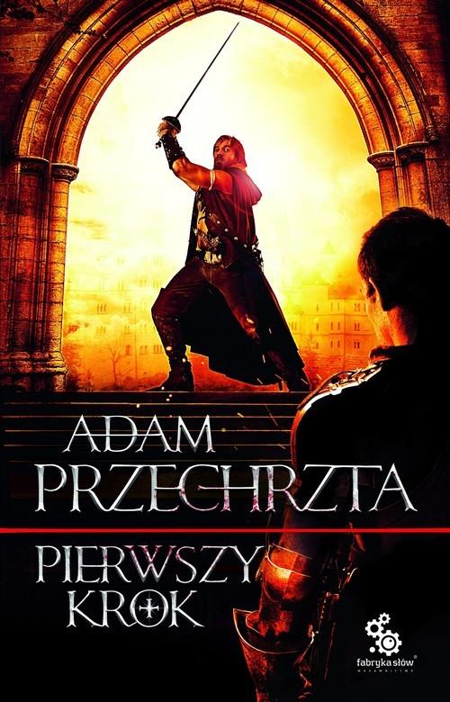 okładka Pierwszy krokksiążka      Adam  Przechrzta