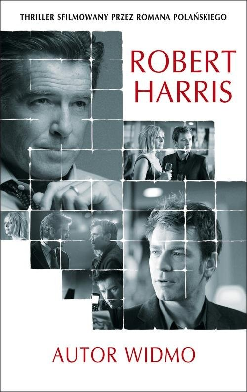 okładka Autor widmoksiążka      Robert Harris