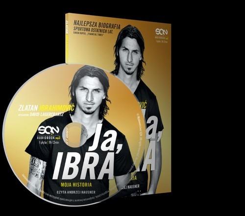 okładka Ja, Ibra. Audiobookksiążka      Zlatan Ibrahimović, David Lagercrantz