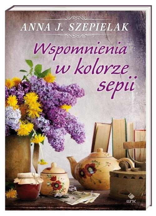 okładka Wspomnienia w kolorze sepiiksiążka      Anna J. Szepielak