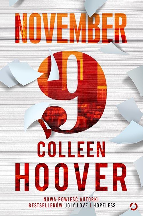 okładka November 9książka      Colleen Hoover