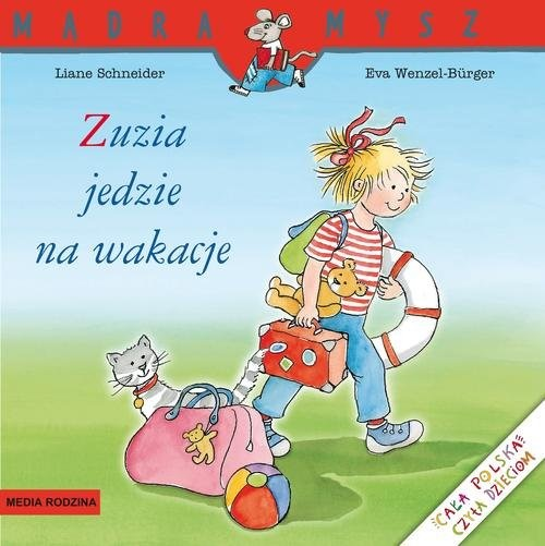 okładka Zuzia jedzie na wakacjeksiążka |  | Schneider Liane