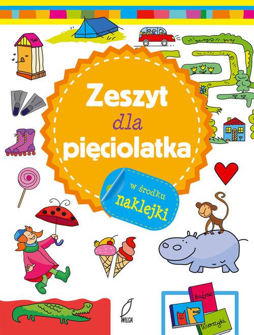 okładka Zeszyt mądrego malucha Zeszyt dla pięciolatkaksiążka     