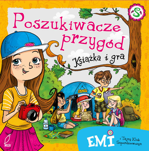 okładka Emi i Tajny Klub Superdziewczyn Poszukiwacze przygód Książka i graksiążka      Agnieszka Mielech