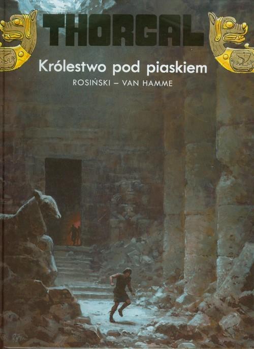 okładka Thorgal Królestwo pod piaskiem Tom 26książka |  | Grzegorz Rosiński, Jean Hamme