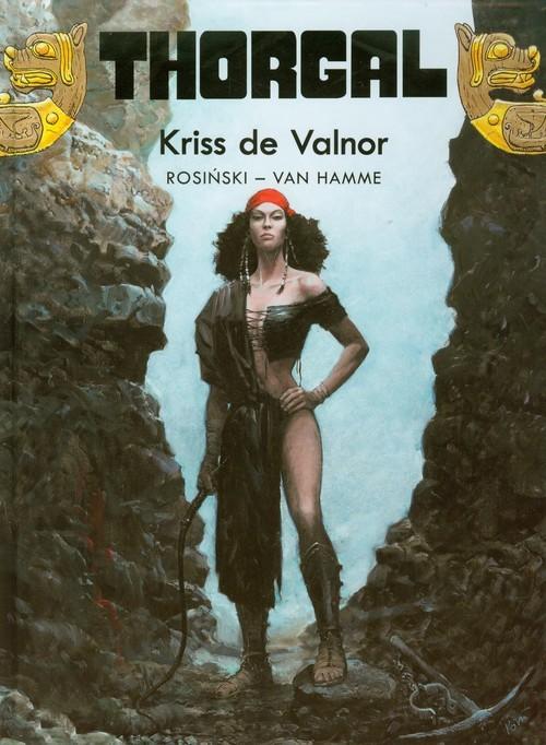 okładka Thorgal Kriss de Valnor Tom 28książka      Grzegorz Rosiński, Jean Hamme