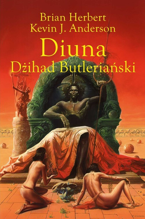 okładka Diuna Dżihad Butleriańskiksiążka      Brian Herbert, Kevin J. Anderson