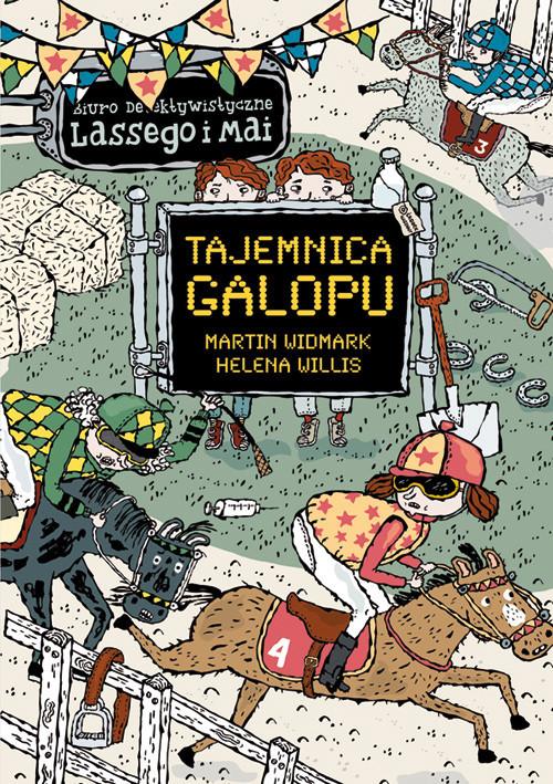 okładka Tajemnica galopu, Książka | Martin Widmark