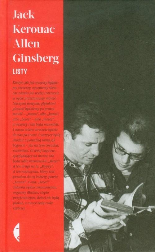 okładka Listy + Skowyt film na płycie DVDksiążka      Jack Kerouac, Allen  Ginsberg