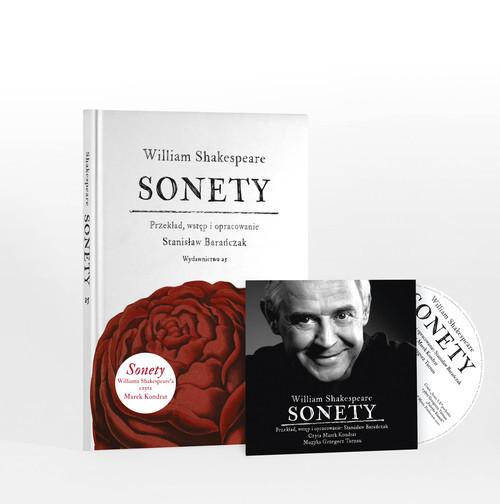 okładka Sonety z płytą CDksiążka |  | William Shakespeare