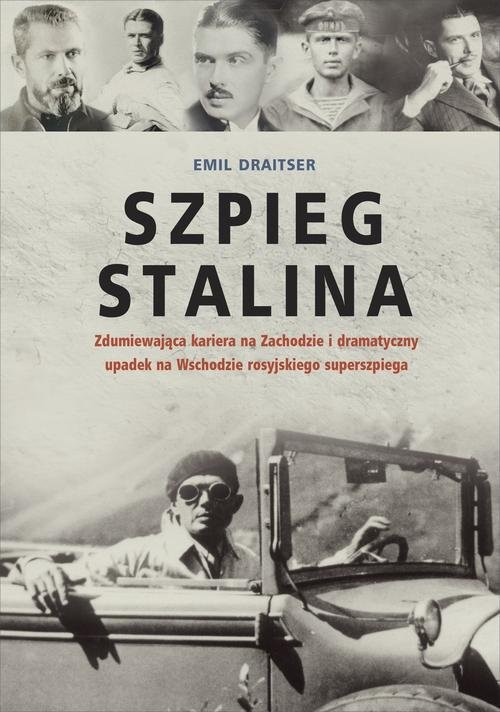 okładka Szpieg Stalina, Książka | Draitser Emil