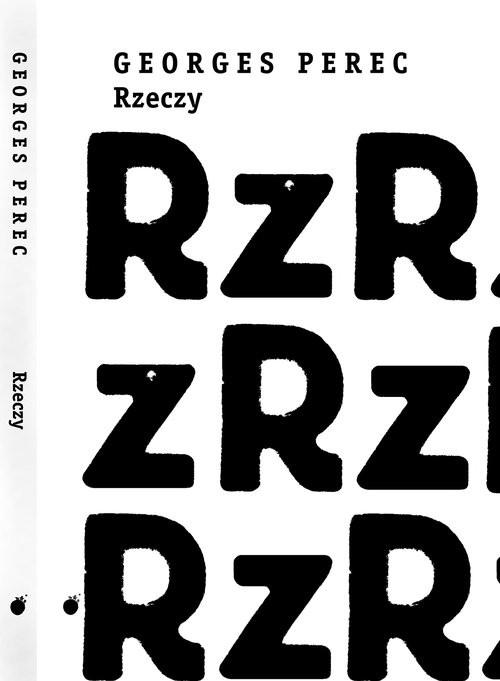 okładka Rzeczyksiążka      Perec Georges
