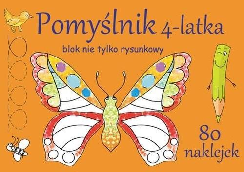 okładka Pomyślnik 4-latka Blok nie tylko rysunkowyksiążka |  | Brylińska Iwona