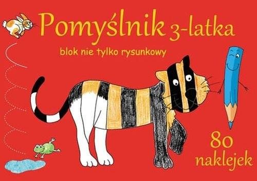 okładka Pomyślnik 3-latka Blok nie tylko rysunkowyksiążka |  | Brylińska Iwona