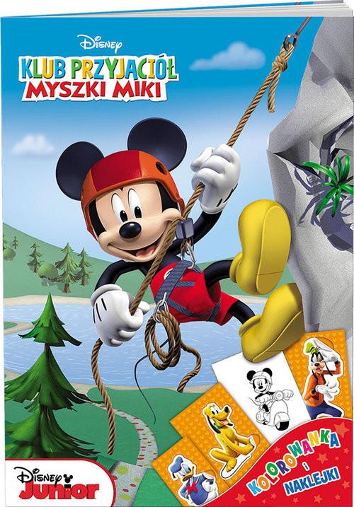 okładka Klub Przyjaciół Myszki Miki Kolorowanka i naklejkiksiążka     