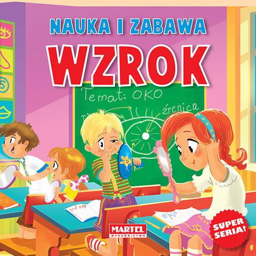 okładka Nauka i zabawa Wzrokksiążka      Agnieszka Nożyńska-Demianiuk