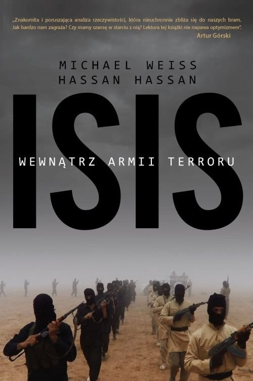 okładka ISIS Wewnątrz armii terroruksiążka |  | Michael Weiss, Hassan Hassan