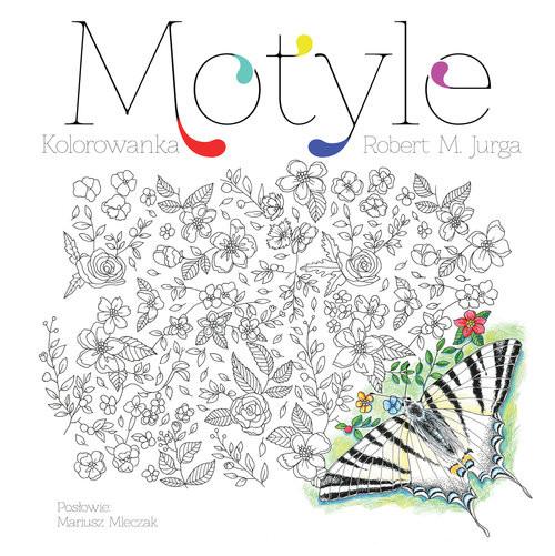 okładka Motyle Kolorowanka edukacyjnaksiążka |  | Robert M. Jurga