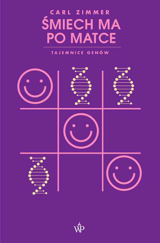 okładka Śmiech ma po matce. Tajemnice genówebook | epub, mobi | Carl Zimmer