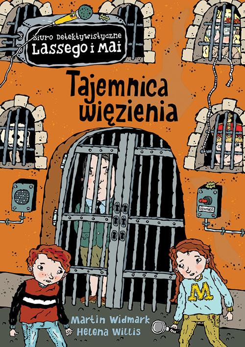 okładka Tajemnica więzienia, Książka   Martin Widmark