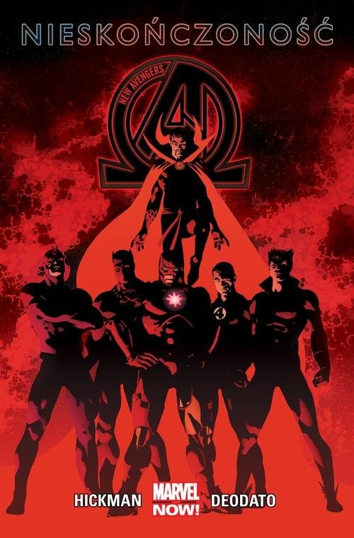 okładka New Avengers Nieskończoność Tom 2książka |  | Jonathan Hickman