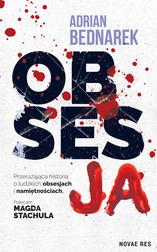 okładka Obsesjaebook | epub, mobi | Adrian Bednarek