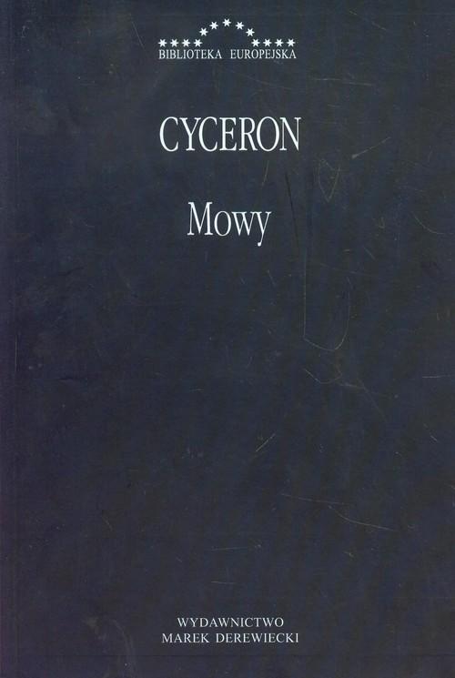 okładka Mowy, Książka   Marek Tulliusz Cyceron