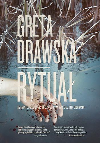 okładka Rytuałksiążka      Greta Drawska