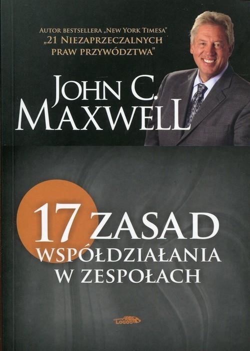 okładka 17 zasad współdziałania w zespołachksiążka |  | John C. Maxwell
