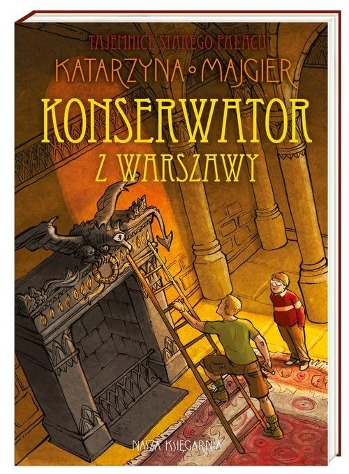 okładka Konserwator z Warszawy, Książka   Katarzyna Majgier