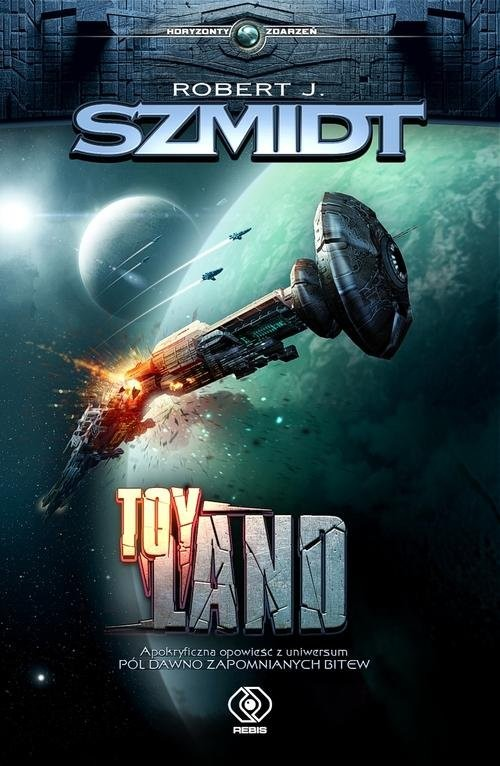 okładka Toy Landksiążka      Robert J. Szmidt