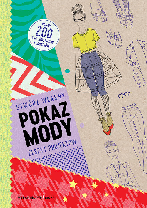 okładka Stwórz własny pokaz mody Zeszyt projektów, Książka | Louise Scott-Smith, Georgia Vaux