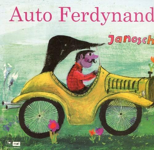 okładka Auto Ferdynandksiążka      Janosch